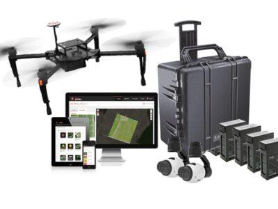 Dron para agricultura de precisión DJI