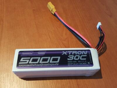 XTRON 5000mAh 6S 30C