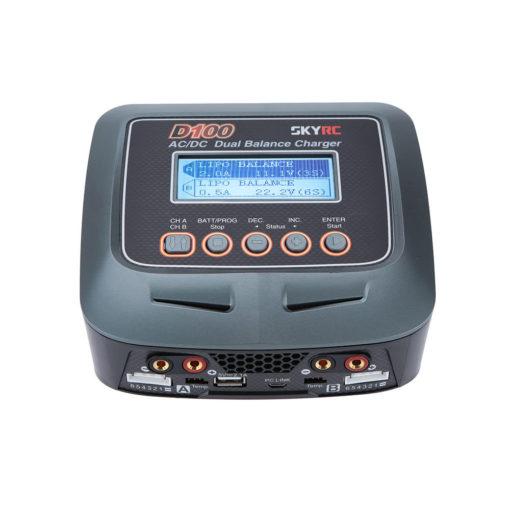 Cargador profesional para 2 baterías LiPo
