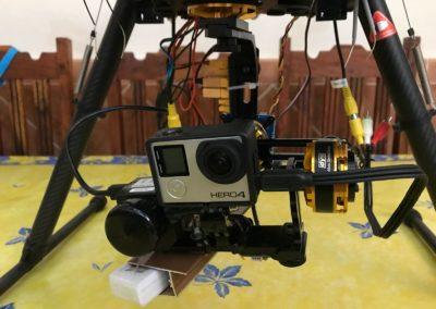 Configuración drones