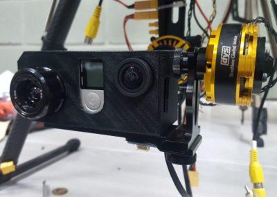 Adaptación de cámaras a drones
