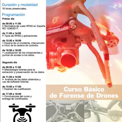 Curso básico forense de drones