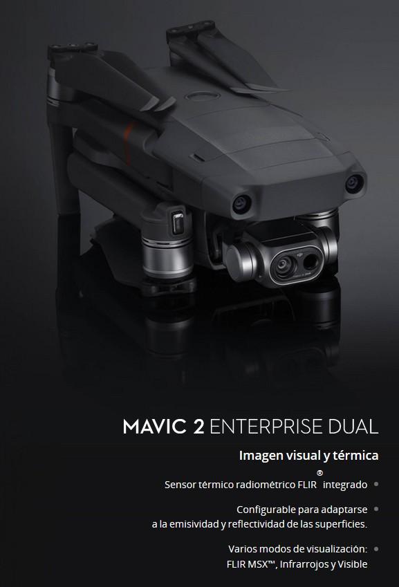 Caracterísicas Mavic 2 Enterprise Dual comprar