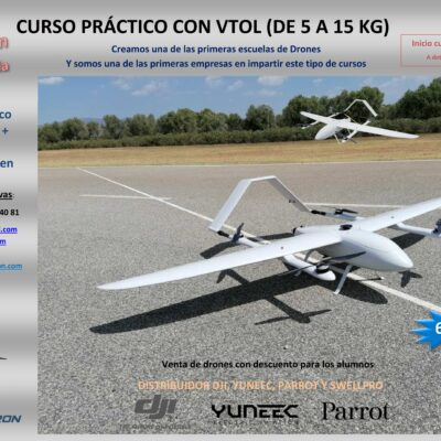 Curso práctico VTOL drones, Ibericadron