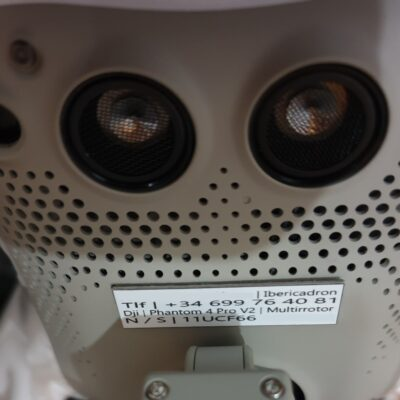 placas identificativas dron