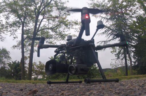 Altavoz DJI MP-130 en Matrice 210 V2 RTK