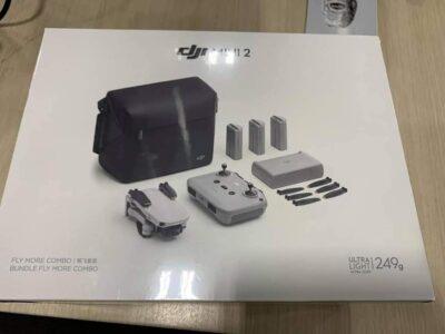 DJI Mini 2 combo caja de presentación