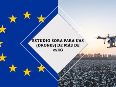 Estudio SORA para dron de más de 25kg EASA