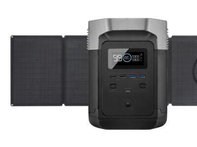 comprar EcoFlow delta + panel solar 110W